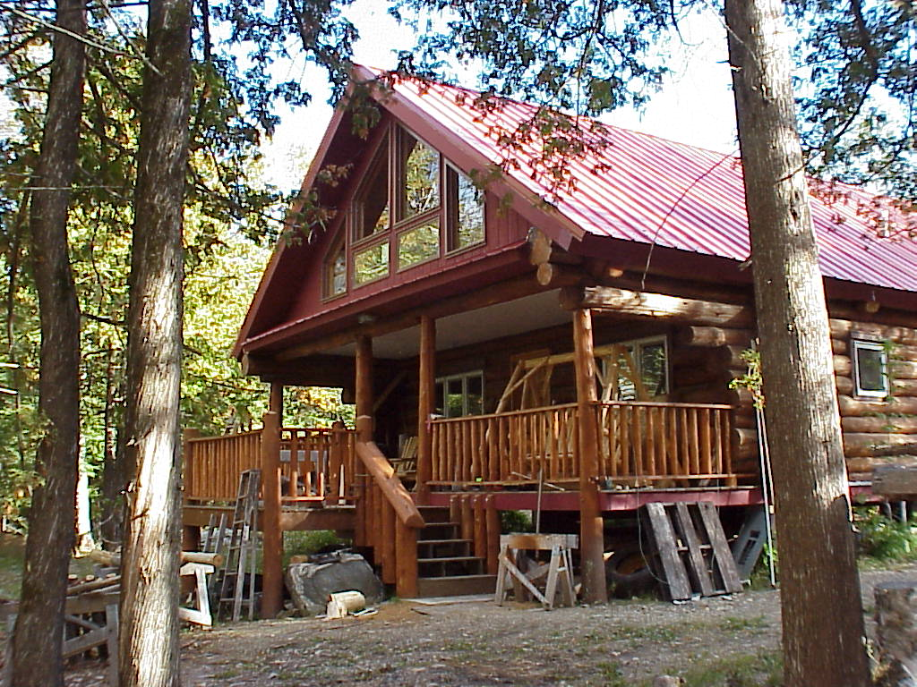 Lake Vermilion Minnesota Marina And Island Private Log Cabin Rental And Real Estate For Sale